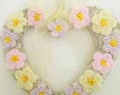 Heart Wreath - Handmade P...