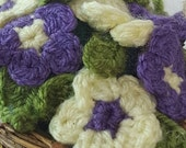 Flower Basket - Crochet F...