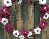Rustic Flower Wreath - Pr...