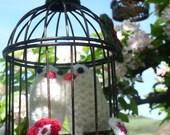 Valentine Love Birds Deco...