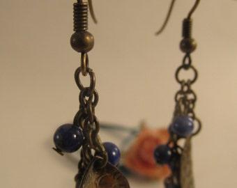 2065 - Earrings Lapis Lazuli
