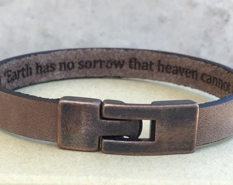 Men's Bracelet,Free Shipping,Custom Bracelet,Bracelets for men,Special Message,Mens accessories,Bangles,Mens Jewelry,Mens bracelet, Gifts