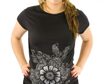 Henna Sunflower Etsy
