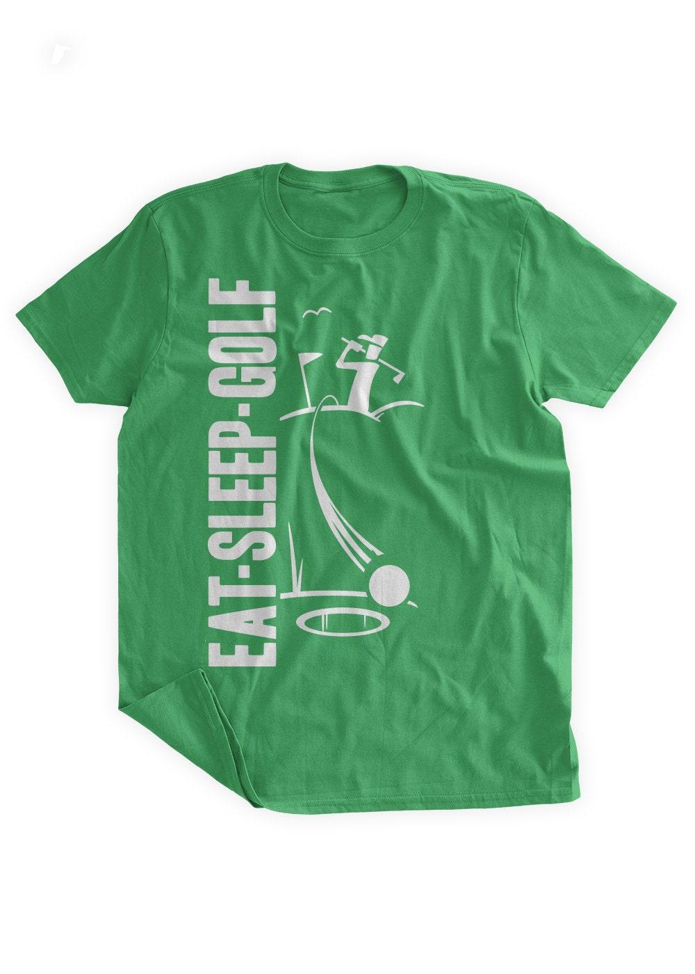 b3160c24 Eat Sleep Golf T-Shirt Golfing T-shirt Gifts for Golfers Tee | Etsy