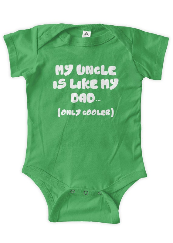 So Relative Unisex Baby Dont Make Call Uncle T-Shirt Romper
