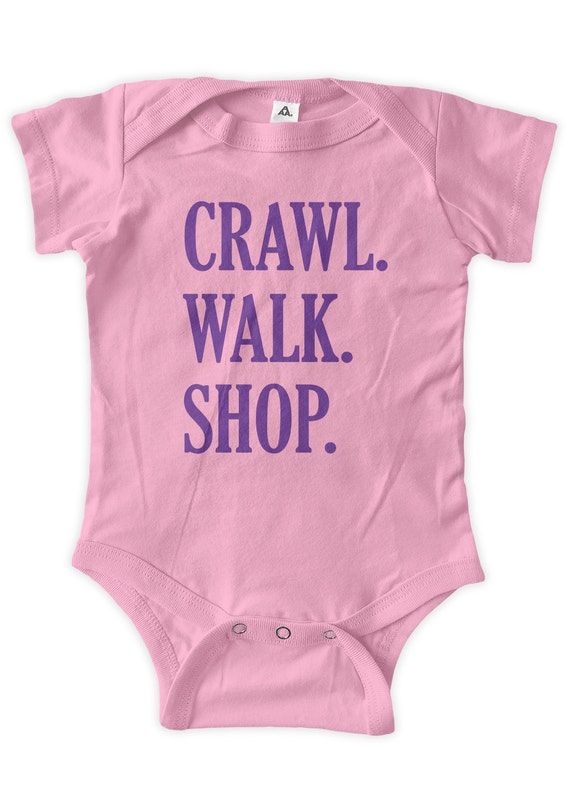 4a18276182de00 Crawl Walk Shop Baby One Piece Body Suit Gifts Baby Graphic