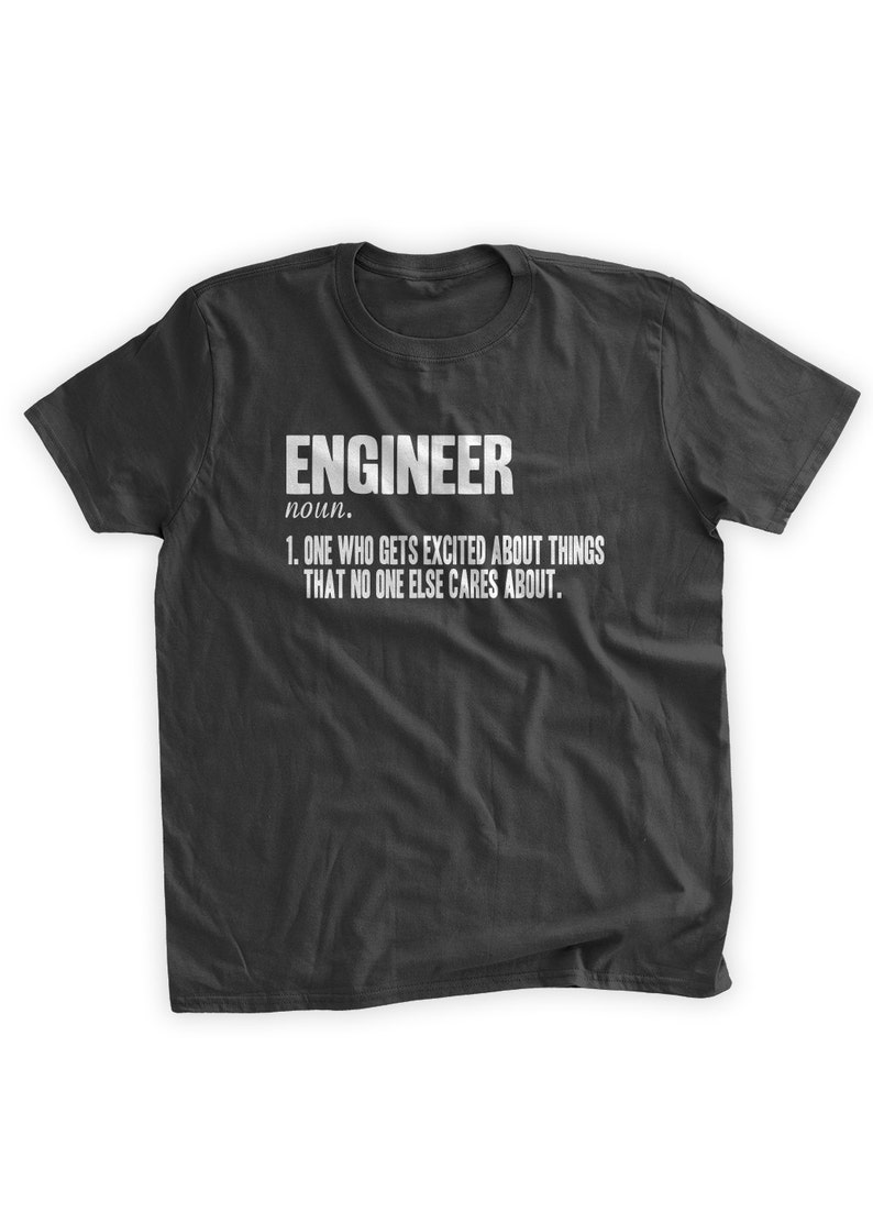 a95a65df9 Father's Day Definition of An Engineer T-Shirt Engineering | Etsy