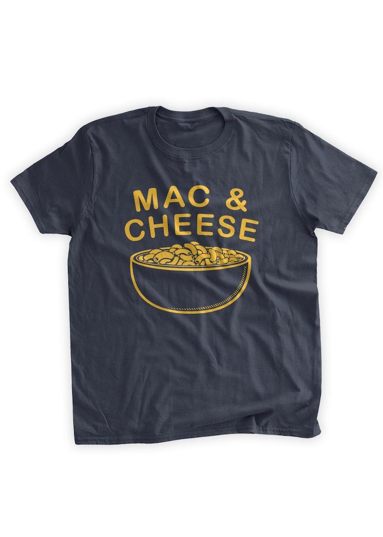 bc92b54b0 Bowl of Mac and Cheese T-shirt Funny Macaroni and Cheese | Etsy