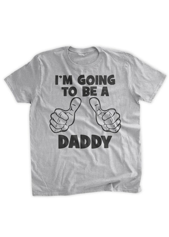 c57b9cf9b2 Funny Dad T-Shirt I'm Going To Be a Daddy Tshirt BLK INK | Etsy