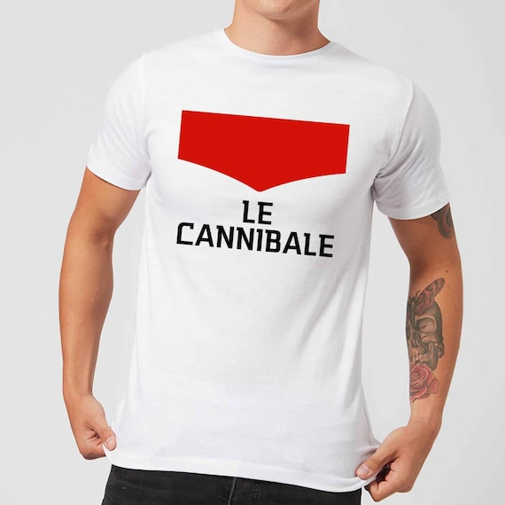 13901579f Cycling T-Shirt Eddy Merckx Le Cannibale Cycling Gifts