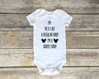 Disney Thumper Rabbit Baby Onesie Baby Shower Long Sleeve Onesie Disney Baby Clothes Gift Idea Disney Bambi Admit It I/'m Adorable