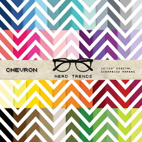 graphic relating to Chevron Printable Paper known as Chevron Electronic Paper Pack, Chevron Sbook Paper, Rainbow