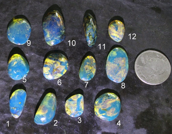 Outstanding Design Dominican Natural Clear Sky Blue Amber Cabochons