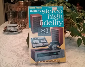 """Vintage 1978 Radio Shack """"Guide to Stereo High Fidelity"""" Book / ***FREE SHIPPING***"""