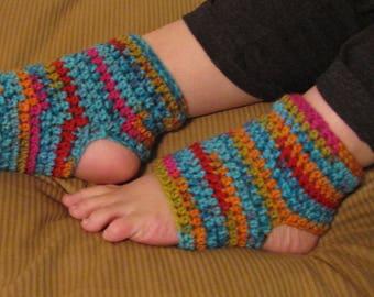 05b1b07152b34f Crochet Yoga Socks