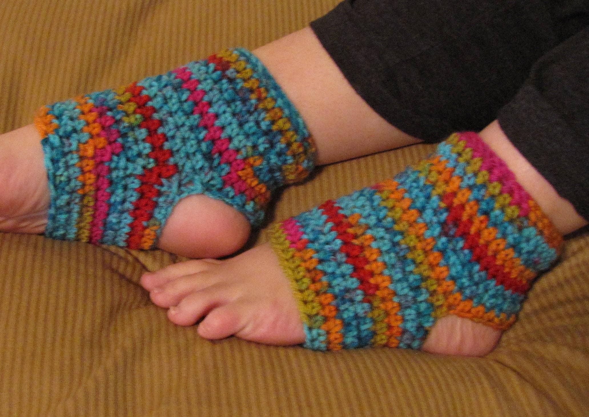Crochet Yoga Socks Flip Flop Socks Crochet Ballet Socks Etsy