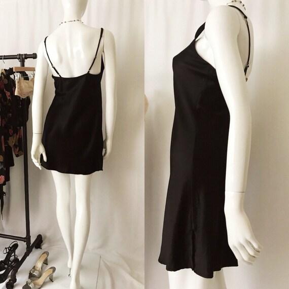 VINTAGE 1990s Nordstrom Silk Slip Dress - image 3
