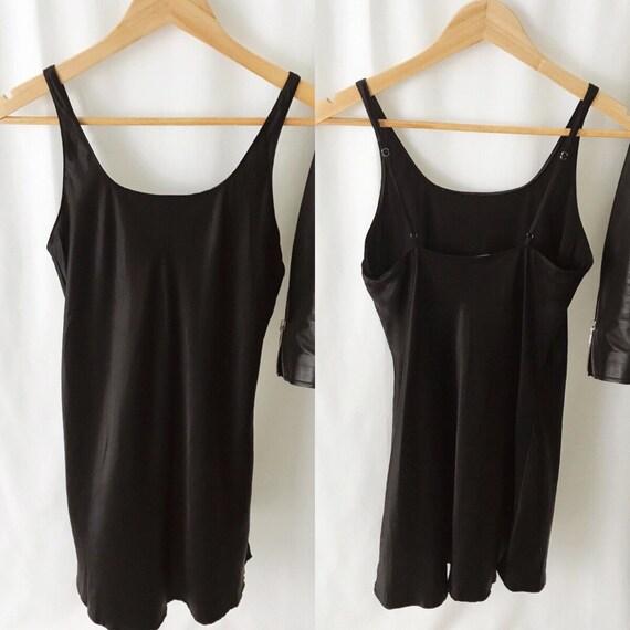 VINTAGE 1990s Nordstrom Silk Slip Dress - image 4