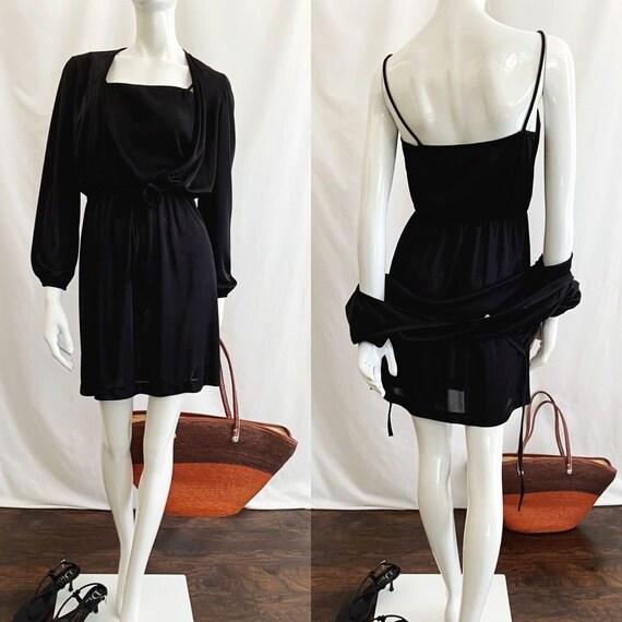 Vintage 70s Mini Dress - image 3