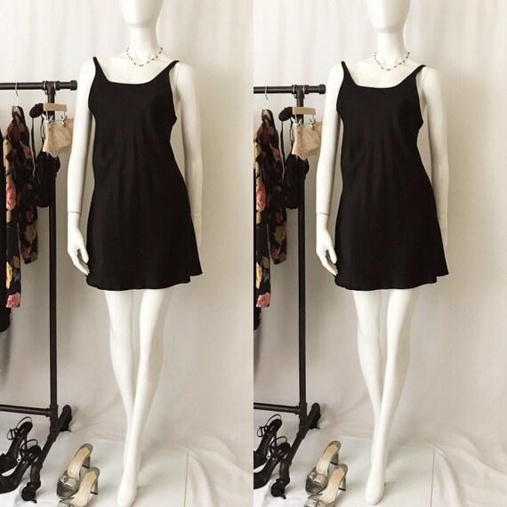VINTAGE 1990s Nordstrom Silk Slip Dress - image 2