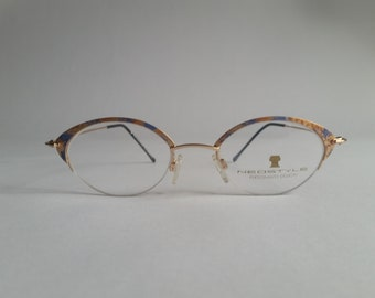 4444371a34 Deadstock Neostyle Citysmart 539 448 48 20 Rose Gold Wire Frames