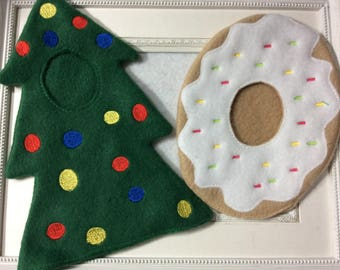 Outfit for one of Santa's elves   Tree or Doughnut   Easy on