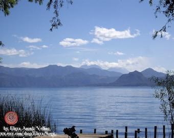 Blue Peace- Photography - Atitlan Lake, Guatemala.