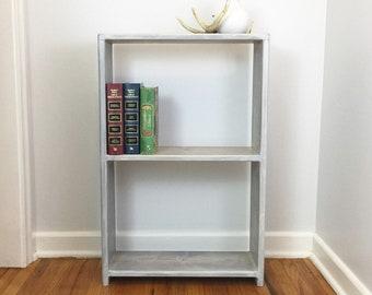 Small Bookcase Bookshelf Bookshelves Farmhouse Furniture Bedroom Living Room Rustic Shabby Chic Book Shelf Dorm