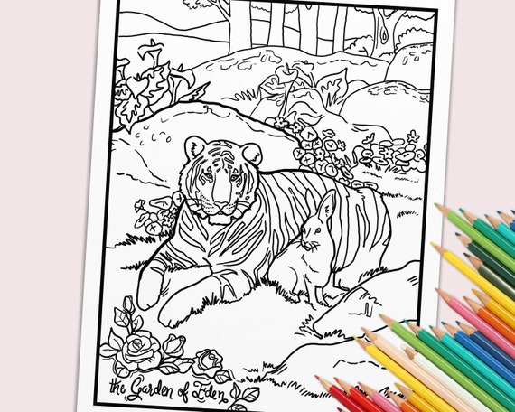 Adam And Eve Coloring Pages Awesome Adam And Eve Coloring Page ... | 456x570