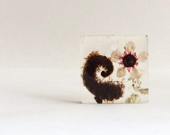 Flower Resin Hand Crafted Jewellery - Nature, Preserved - koru manuka