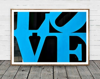 "Vancouver Canada Typography Photography, ""Love Letters"" Home Decor Wall Art Fine Art Print Modern Photography"