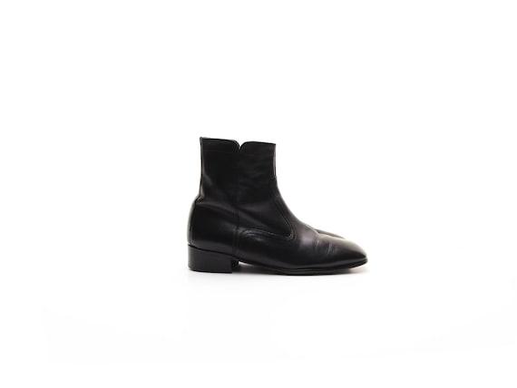 60s chelsea boots mens beatle boots SEARS vintage… - image 1