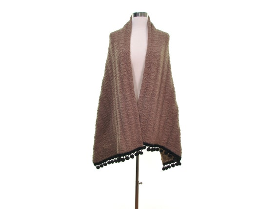 Gift for Her mohair wool shawl angora wool shawl l
