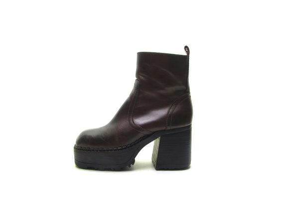 Steve Madden MONSTER Platform boots CHUNKY Heel Bo