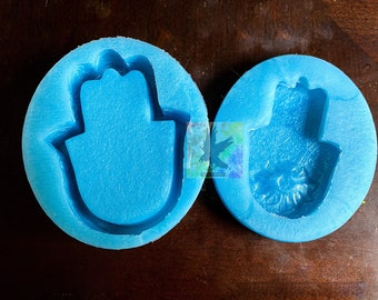 Hamsa Trinket Box Mold Silicone Mold Resin Mold MADE TO ORDER