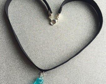 Gummy Bear Necklace Choker Necklace Gummy Bear Jewelry Black Choker
