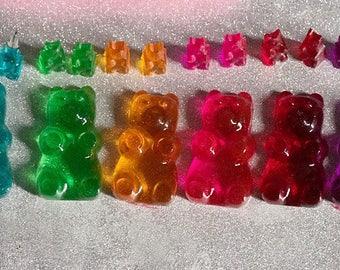 Gummy Bear Necklace Gummy Bear Pendant Gummy Bear Jewelry Resin Gummy Bear Candy Jewelry Candy Necklace