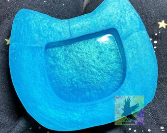 Silicone Mold Cat Trinket Dish Resin Mold Resin Trinket Dish Mold Resin Cat