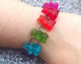 Gummy Bear Bracelet Gummy Bear Jewelry Candy Bracelet