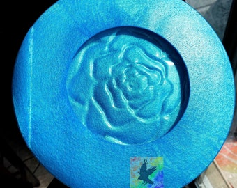 Rose Plate Mold MADE TO ORDER