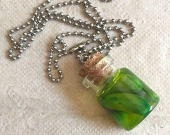 Pickle Necklace Pickle Jar Pickle Jewelry Polymer Clay Pickle