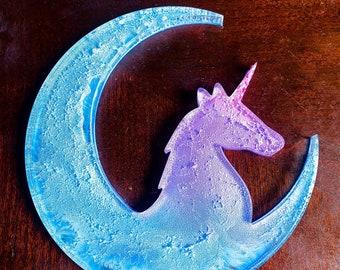 Unicorn Crescent moon Wall Decor
