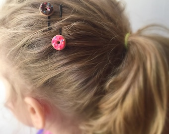 Donut Bobby Pin Hair Clips Hair Accessories
