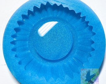 Sunflower dish Silicone Mold MADE TO ORDER mold