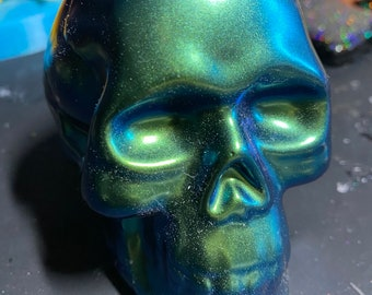3D Skull Silicone Mold MADE TO ORDER