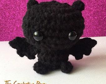 Bat Crochet Amigurumi Doll Halloween Doll Kawaii Doll Crochet Doll Bat Amigurumi Kawaii Bat