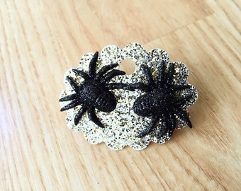 Spider Halloween Stud Earrings