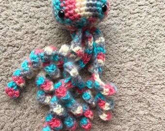 Crochet Jellyfish Crochet Amigurumi Jelly fish Doll