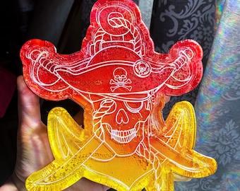 Pirate Skull Trinket Dish