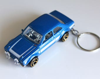 Ford Escort Rs Fast And Furious Hot Wheels Cast On Key Chain